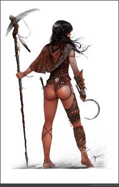 fantasi girl, charact design, art, inspir, doctors, witch doctor, czarnystefan, illustr