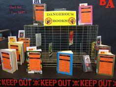 #BannedBooksWeek display