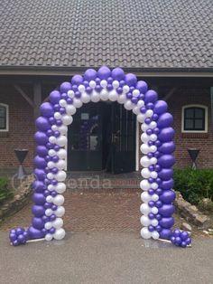 Balloon arch wedding balloons and wedding balloon decorations