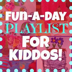 Fun-A-Day Playlist {guest post at Creative Geekery}