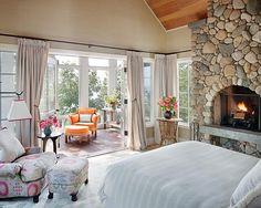 Bedroom layout , with balcony !
