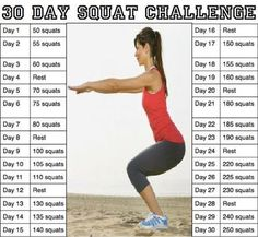 Pinteresting Summer: Week 10 Weigh-In and My 30 Day Ab and Squat Challenge or Why My Thighs Hate Me