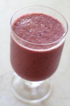 Cherry Soy Yogurt Smoothie