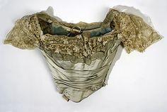 Evening dress, Worth, 1898-1900 Met Museum