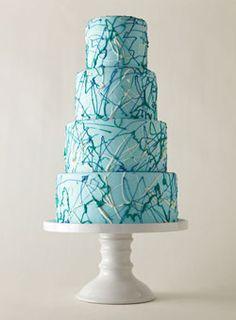Cool artsy cake