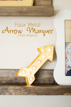 Lighted Arrow Marque