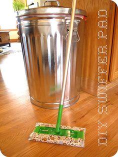 DIY reusable swiffer pad!
