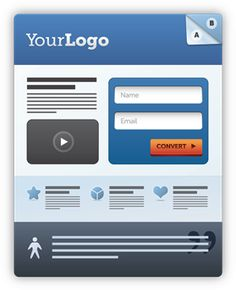 A professionally designed landing page can improve your conversion rates.    This post is all about showcasing awesome landing pages, to give you some inspiration for your next design. It's worth stating that no page is ever perfect – or conversely, every page can be better. With this in mind, we'll be offering perspective on what makes each page special or interesting, while providing some insight into what we would try out in an A/B test experiment to optimize for higher conversions.
