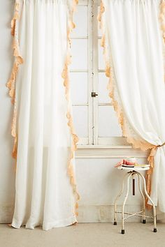 Ombre Lace Curtain - anthropologie.com