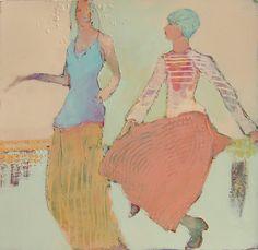Pink Skirt...Judy Thorley