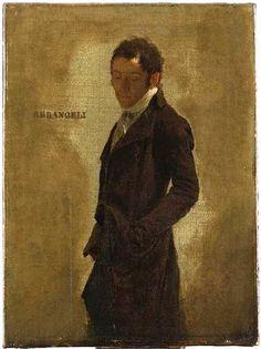 Louis-Léopold Boilly   Portrait of the Painter Gioacchino Serangeli