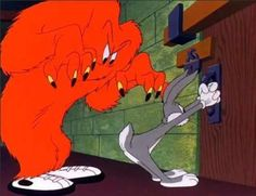 Red Monster from Looney Tunes