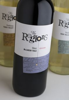 The Regions – range conceived to illustrate the diversity of wines from different Australian wine regions