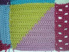 Ganchillo Fácil: Nº 14, Colcha Vintage.  Colcha de Ganchillo, Colcha de Crochet.