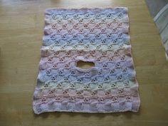 crochet car seat blanket