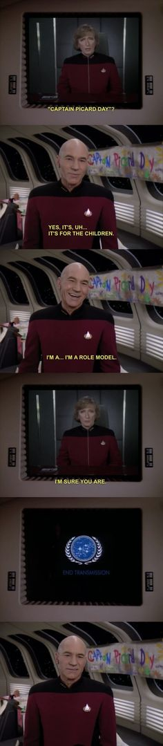 Hahaha Captain Picard Day