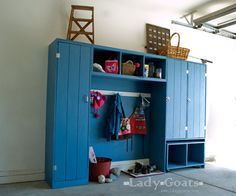 Ana White | Build a Modular Locker - Single Locker | Free and Easy DIY Project and Furniture Plans
