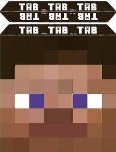Free Minecraft Printable Mask