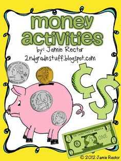 Money Activities/Centers to keep your students engaged and learning.