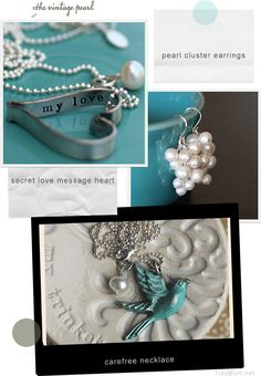 The Vintage Pearl Giveaway at TidyMom.net
