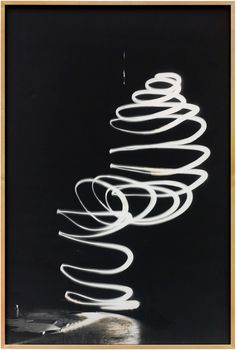 Bruce Nauman (American, born 1941)  Light Trap for Henry Moore No. 1  1967  Gelatin silver print  157.5 x 105.7 cm (62 x 41 5/8 in.)  Glenstone. ©Artists Rights Society (ARS)