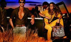 African Safari with Michael Kors, Spring 2012 Ad Campaign. gomoneyways 5