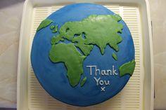 World Map Cake by aliii123.deviantart.com on @deviantART