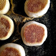Homemade English Muffins by foodiebride, via Flickr