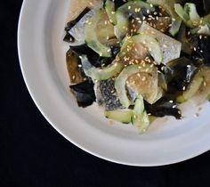 Recipe:  Wakame, Cucumber, and Jicama Salad