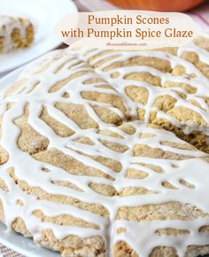 Need a great recipe to use up some of that canned pumpkin? Try this recipe: Pumpkin Scones with Pumpkin Spice Glaze #LoveYourCup #shop
