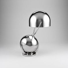 Art Deco Spherical Desk Lamp designed by Felix Aublet, circa 1925/1931