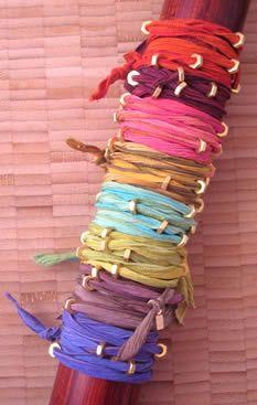 bracelet :: bhati beads