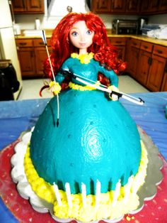 Merida, Brave Cake