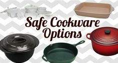 Safest and Most Natural Cookware and Bakeware
