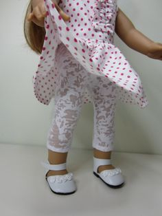 American Girl doll clothes  White burn out knit by JazzyDollDuds, $7.00