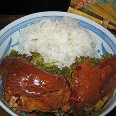 Slow Cooker Honey Garlic Chicken thigh recipe