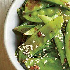Snap Pea Sauté | CookingLight.com #myplate #veggies