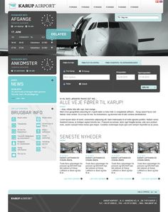 karup airport #webdesign #trends