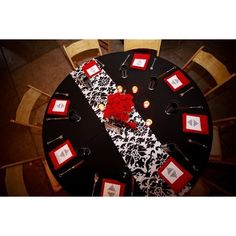 red white and black reception wedding flowers,  wedding decor, wedding flower centerpiece, wedding flower arrangement, add pic source on comment and we will update it. www.myfloweraffair.com can create this beautiful wedding flower look.