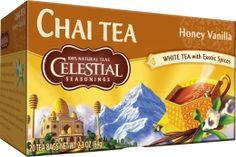 Honey Vanilla White Tea Chai Tea - Celestial Seasonings Tea