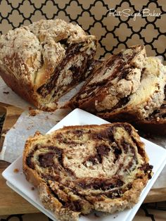 the BEST Chocolate Babka Recipe. It makes 3 loaves. Perfect for eating now and freezing for later. It's up to you to share it.