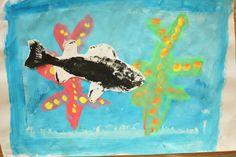 Art Project Girl: Gyotaku Like You Mean It
