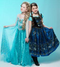 Frozen Custom Anna Costume