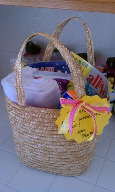 Summer Survival Kit ~ an end of the year teacher gift
