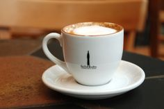Caffe Ladro, Lower Queen Anne - my favorite neighborhood coffee shop!