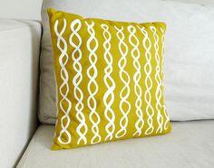 Sunflower DNA Pillow by erindollar #Pillow #erindollar