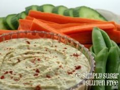 Another hummus recipe - includes greek yogurt.  #snacks