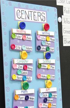 Moveable Classroom chart - the perfect tool for teachers this back to school season!