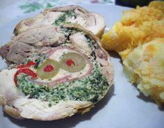 ARROLLADO DE POLLO (Deshuesado y variedad de rellenos) ~ Aromas de Mamá | Recetas de Cocina | aromasdemama.com