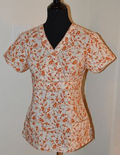 Stylish Nursing Medical Scrub (Ready to ship in MEDIUM ONLY) on Etsy